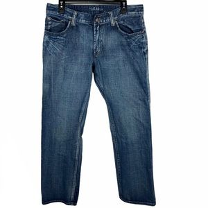 Flypaper Straight Leg Jeans w Cross Pockets 34x34